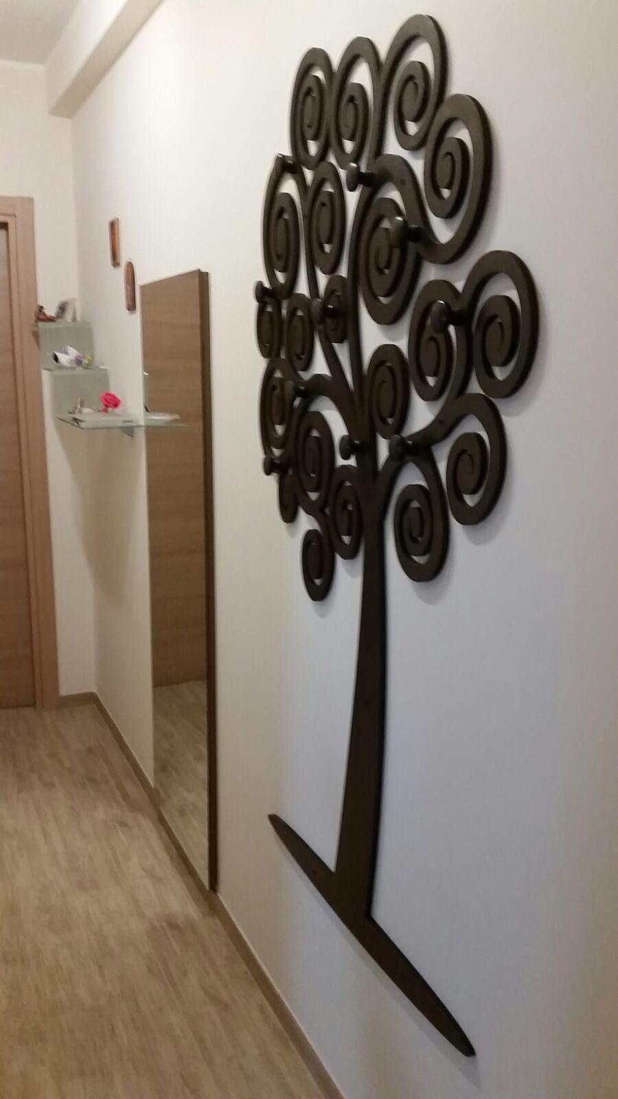 Appendiabiti albero della vita mercuri design for Appendiabiti albero