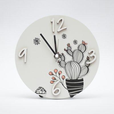 Orologio da Tavolo e da Parete Bomboniera Cactus
