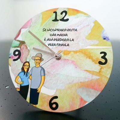 Orologio con Illustrazione