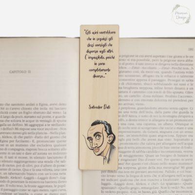 Segnalibro in Legno Salvador Dalì