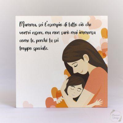 Quadretto Festa della Mamma - Cuori