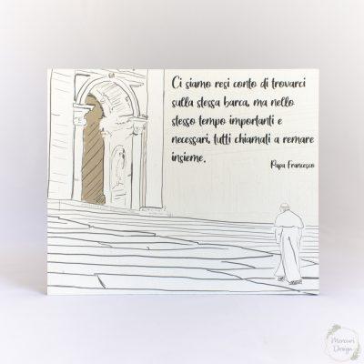 Quadro Papa Francesco indulgenza plenaria